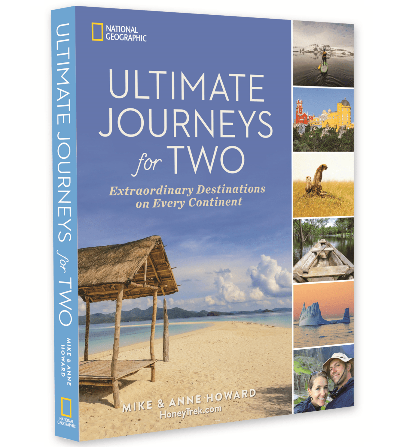 """Ultimate Journeys for Two"" by Mike & Anne Howard is out now. Images by HoneyTrek.com."