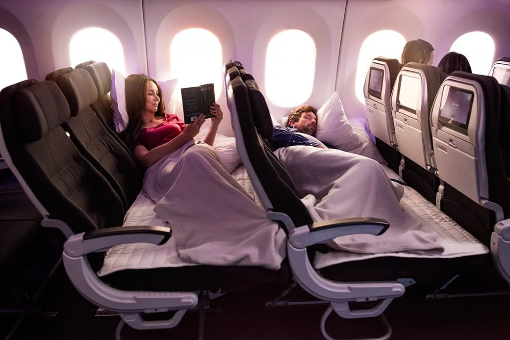 Priced Out Of Business Class Try A Lie Flat Economy Bed