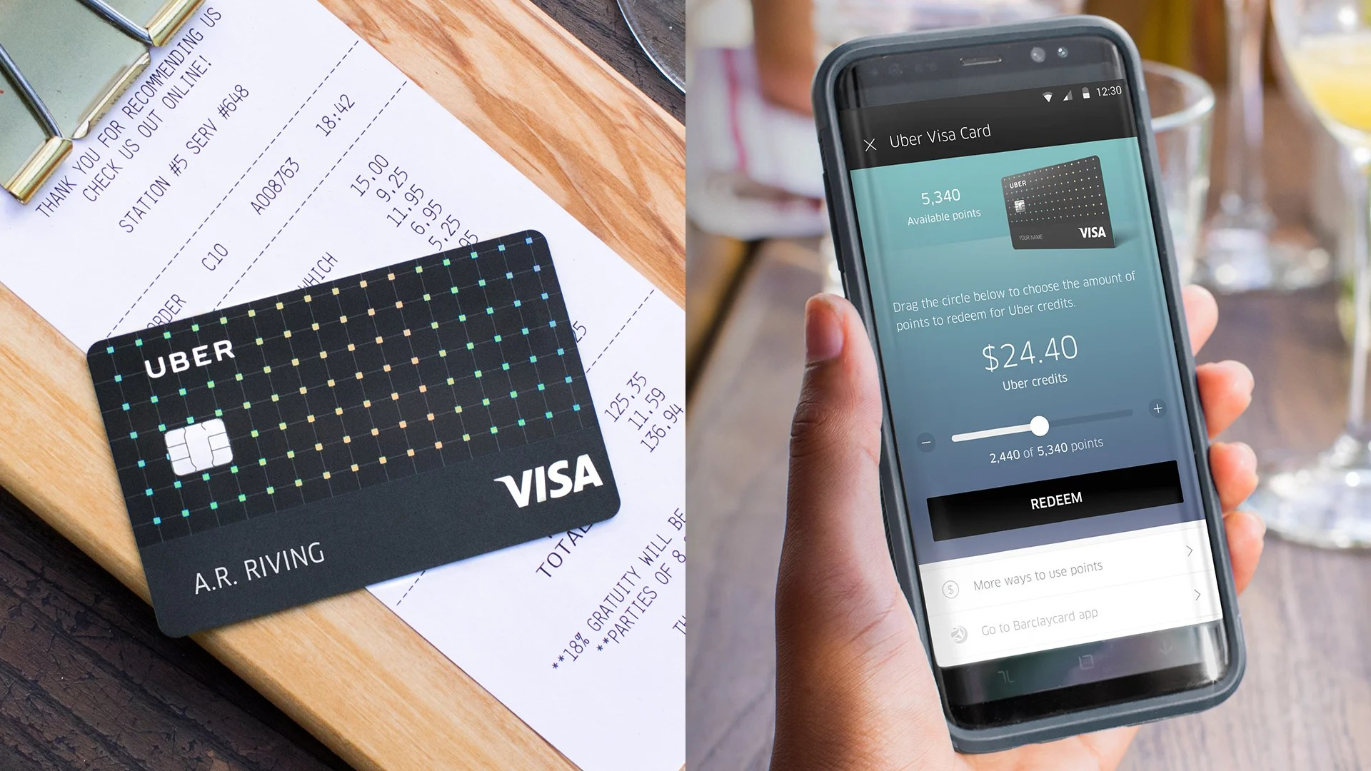 new no fee uber visa card offers up to 4 cash back