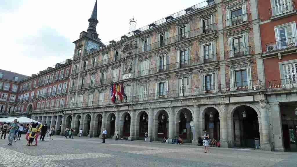 The Plaza Mayor. Image by Lori Zaino.