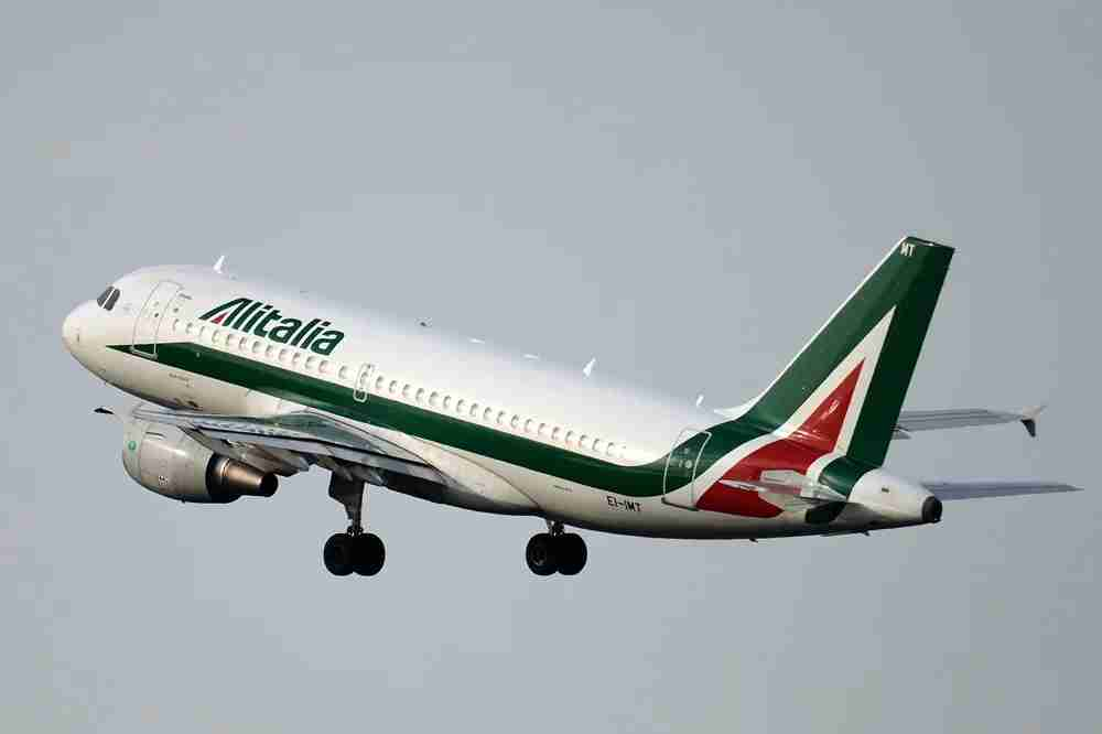 Alitalia has been dealing with bankruptcy, so you may not want to book long term with them. GABRIEL BOUYS / Getty Images.