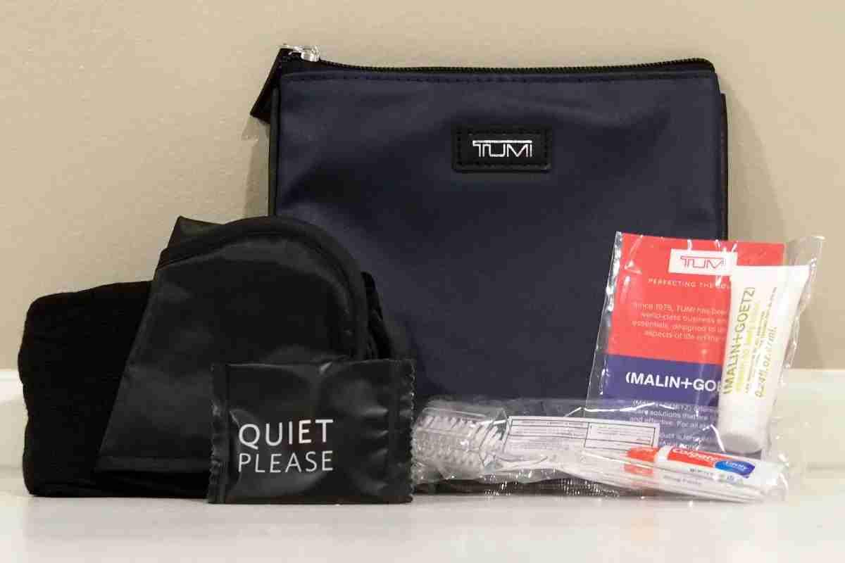 Delta Tumi Premium Select Amenity Kit