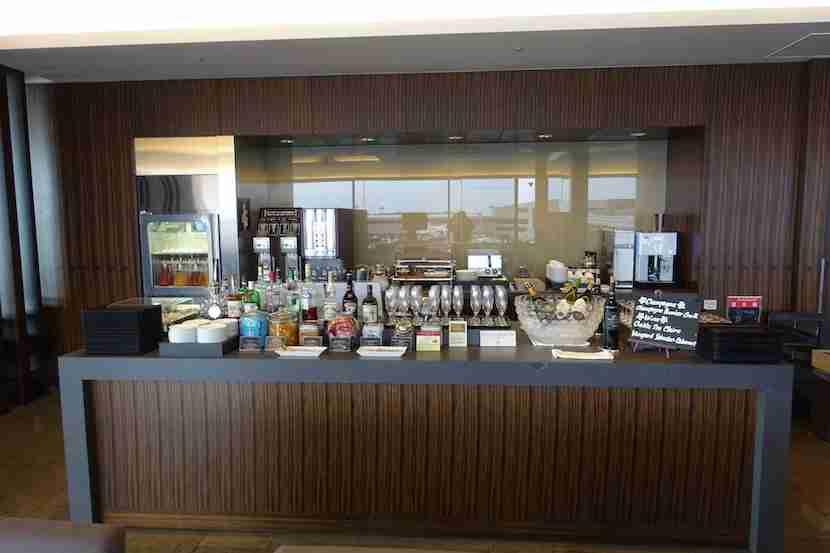 JAL lounge bar