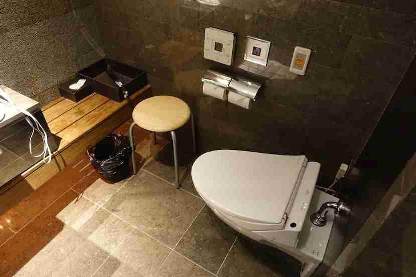 JAL shower toilet