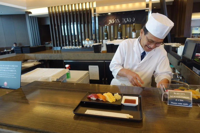 JAL sushi chef