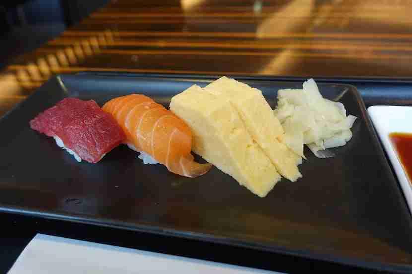 JAL sushi