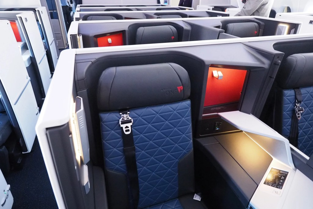 Touring Delta One, Premium Select and Coach on Delta's First