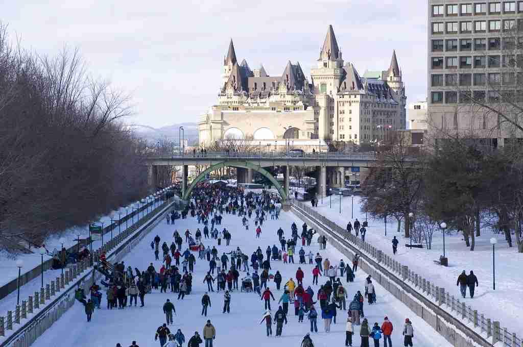 Every winter, Ottawa