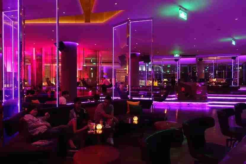 W Shanghai bar night