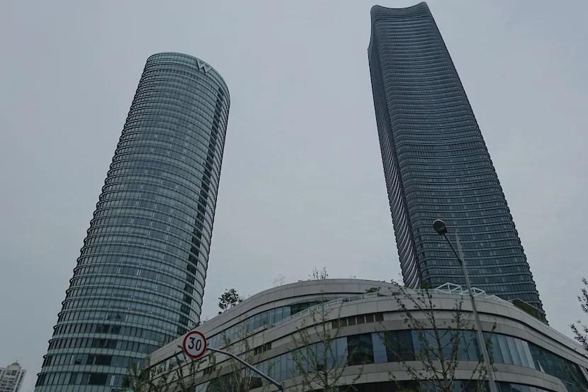 W Shanghai buildings