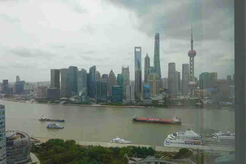 W Shanghai partial view