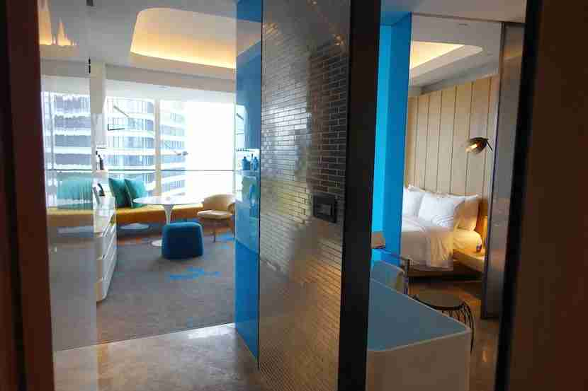 W Shanghai room entrance better