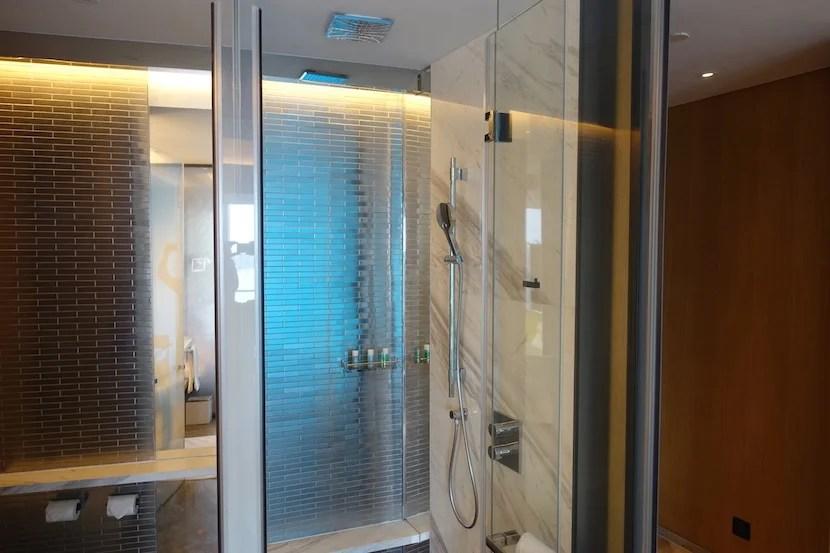 W Shanghai shower