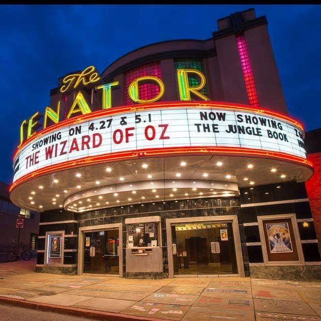 Photo by The Senator Theatre / Facebook.