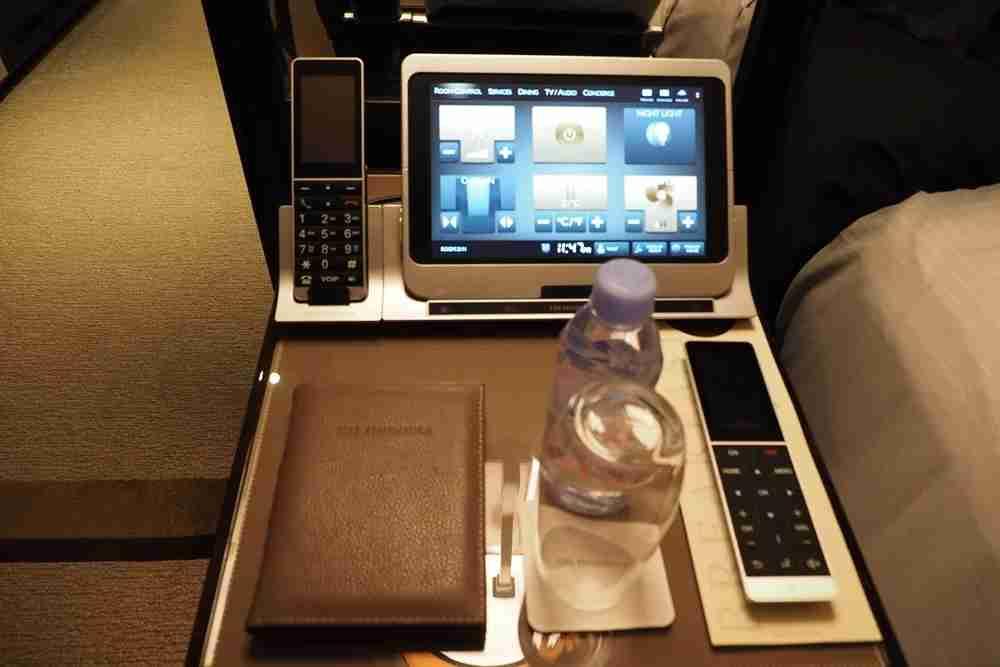 The iPad made ordering breakfast easy.