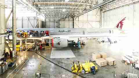 First A350-1000 for Launch Customer Qatar Airways