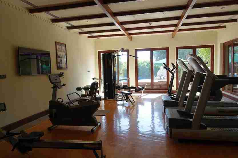 Fitness Center Al Maha Desert Resort Dubai Review