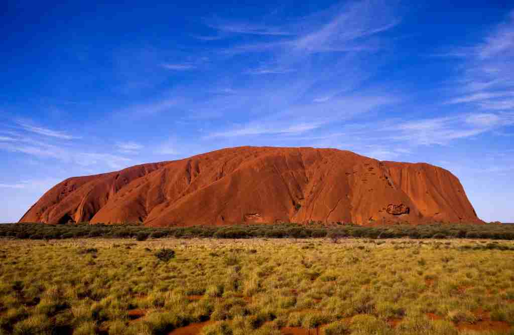 General view of Uluru (Ayer