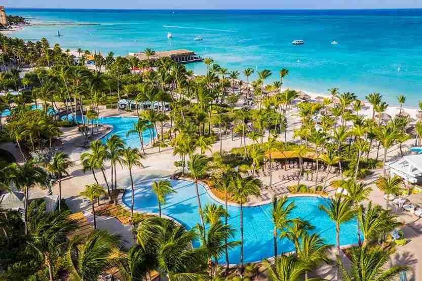 Photo courtesy of the Hilton Aruba