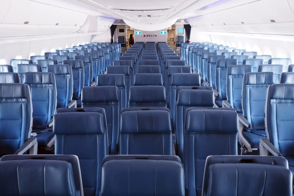 A Smooth Ride In Coach Delta S A350 Detroit To Tokyo