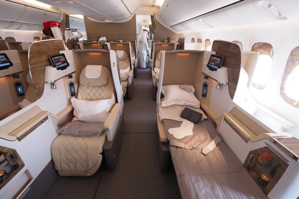 Emirates Fancy New Business Class Still Has Middle Seats