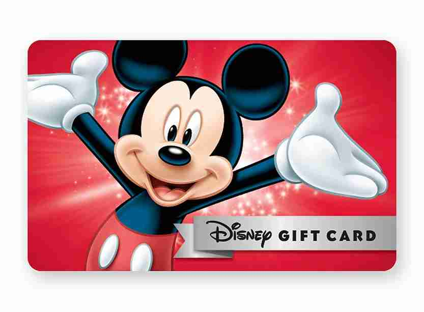 Pick up discounted Disney gift cards at Sam