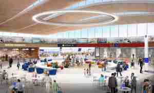 KCI single terminal rendering provided by The Kansas City Star