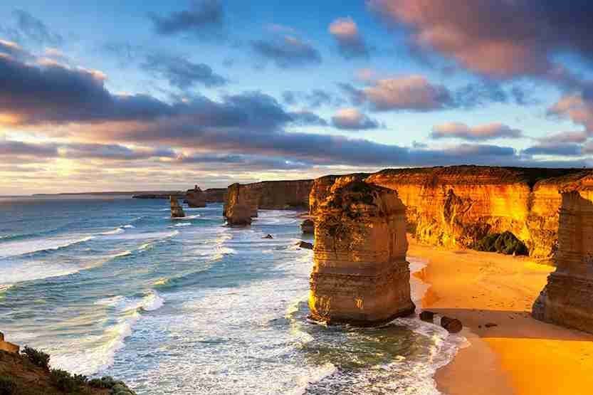 The Great Ocean Road is one of the world