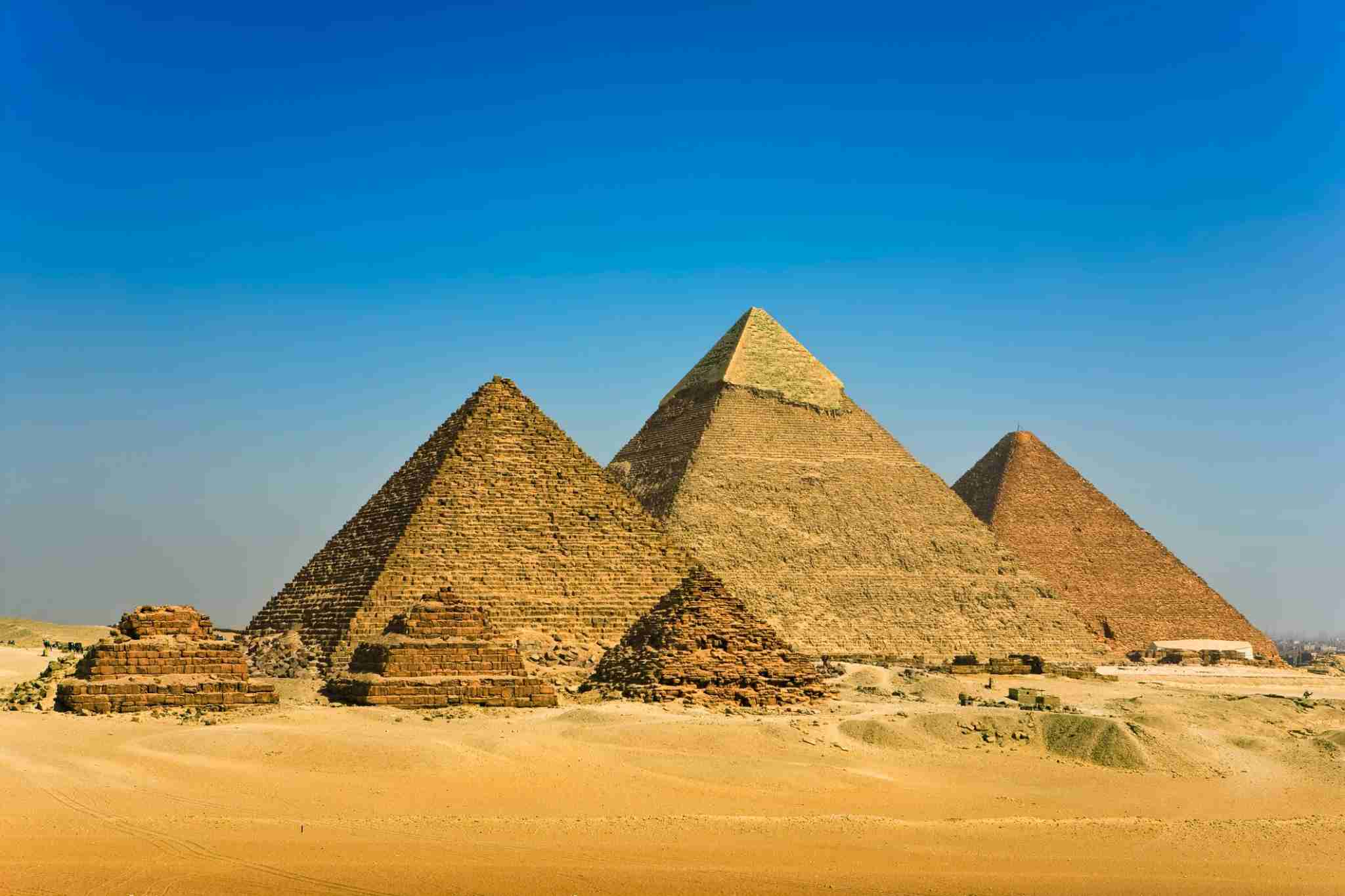 The Pyramids of Giza (Photo by