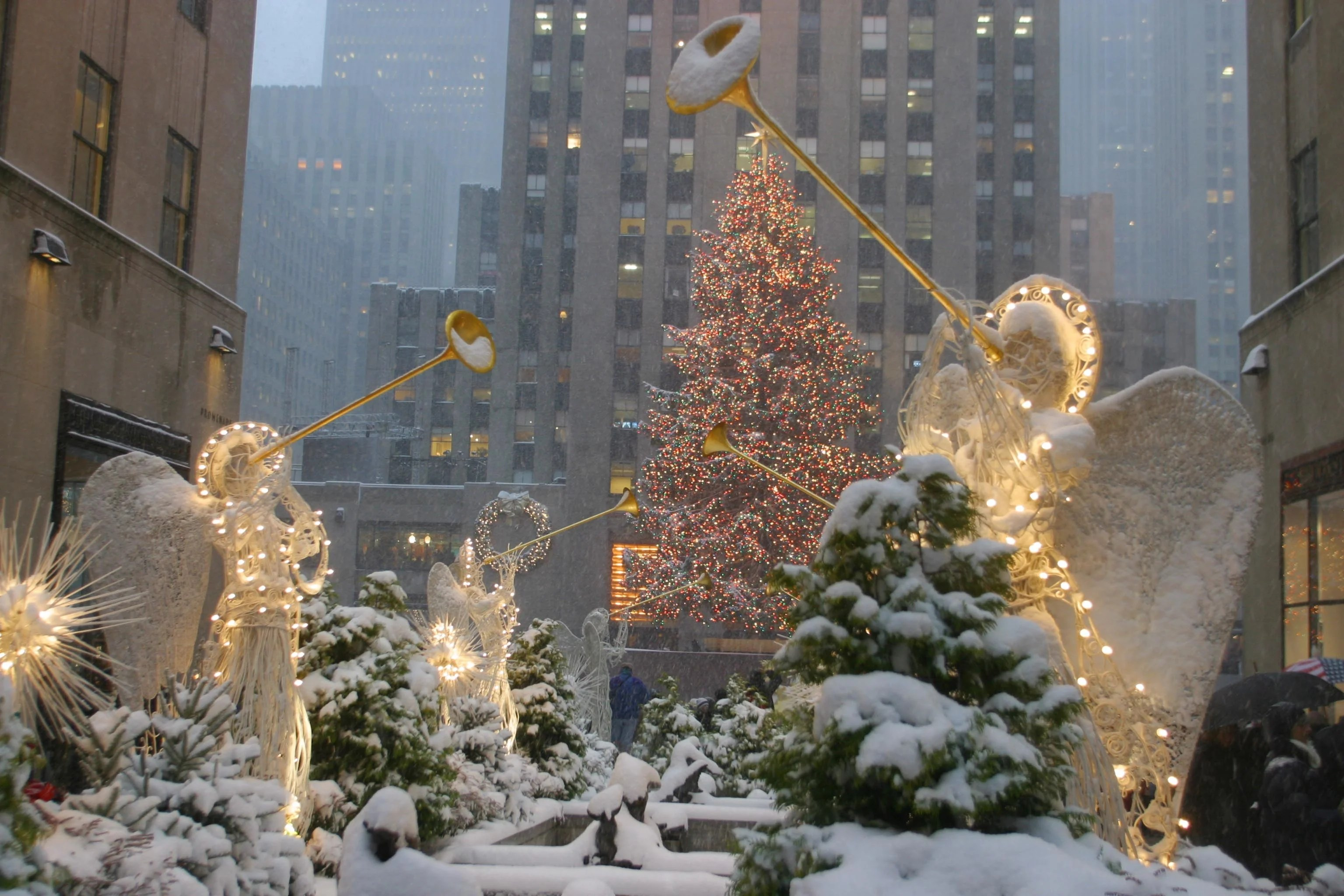 The Cities With The Best Chance For A White Christmas