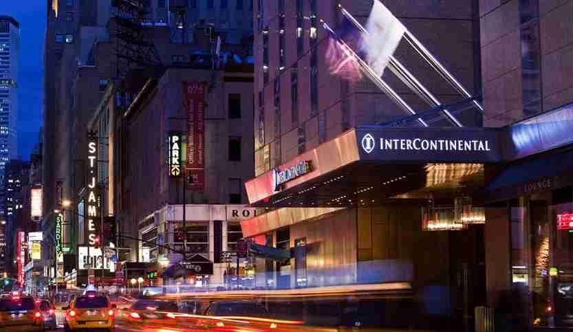 IHG Intercontinental, New York. Photo courtesy IHG
