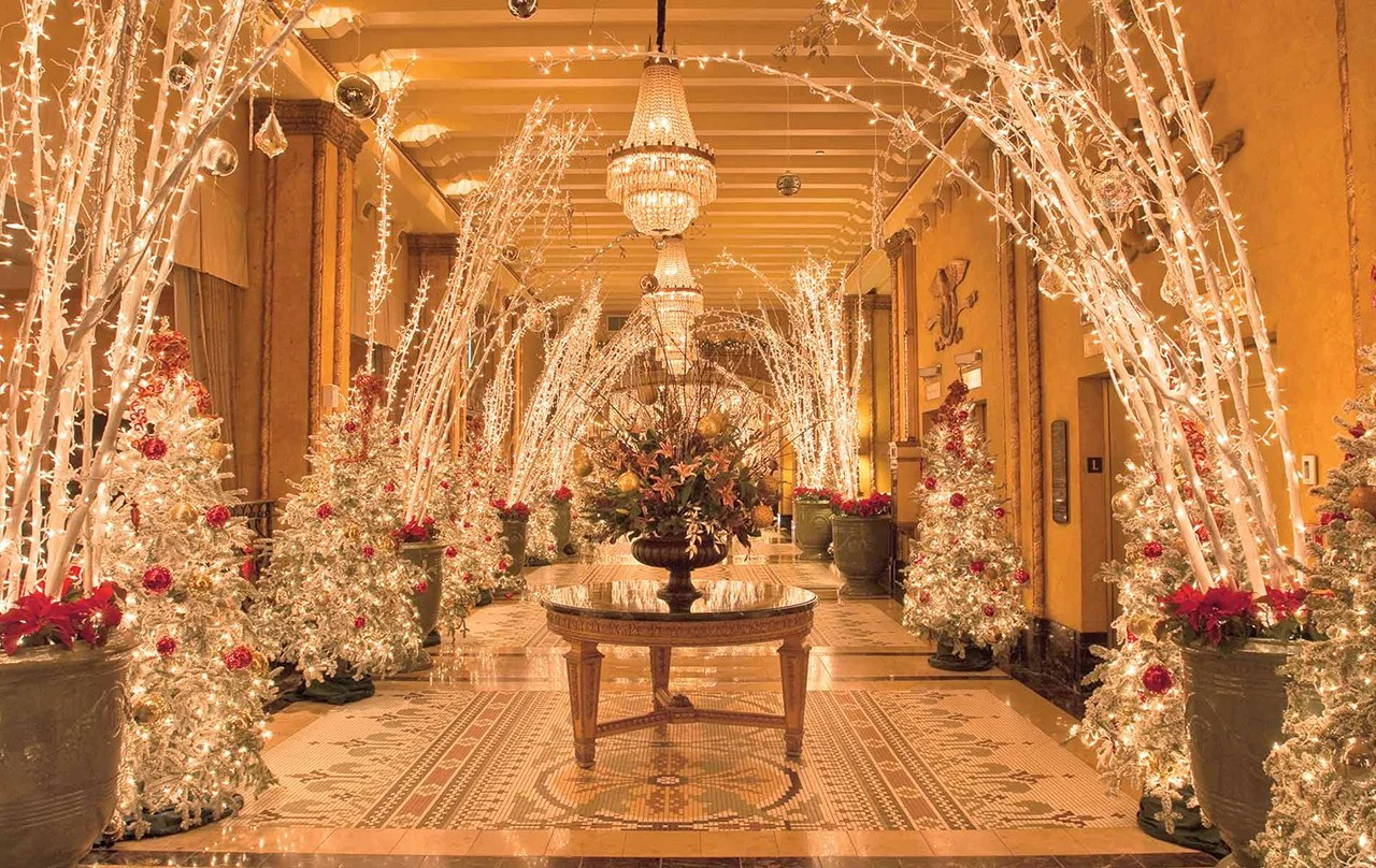 9 hotels that really get into the holiday spirit for New christmas decorations