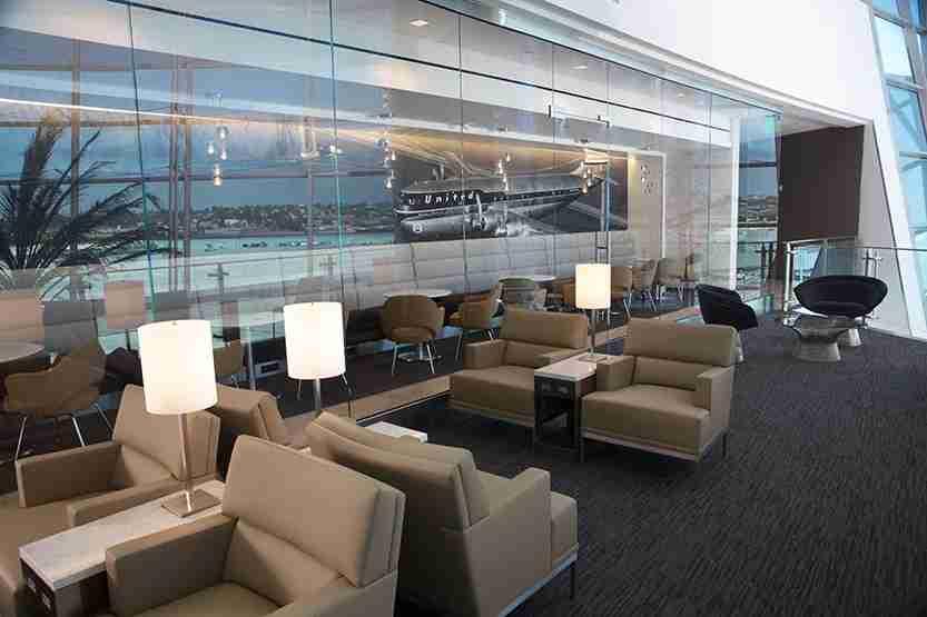 United Club San Diego. Photo courtesy San Diego Airport.