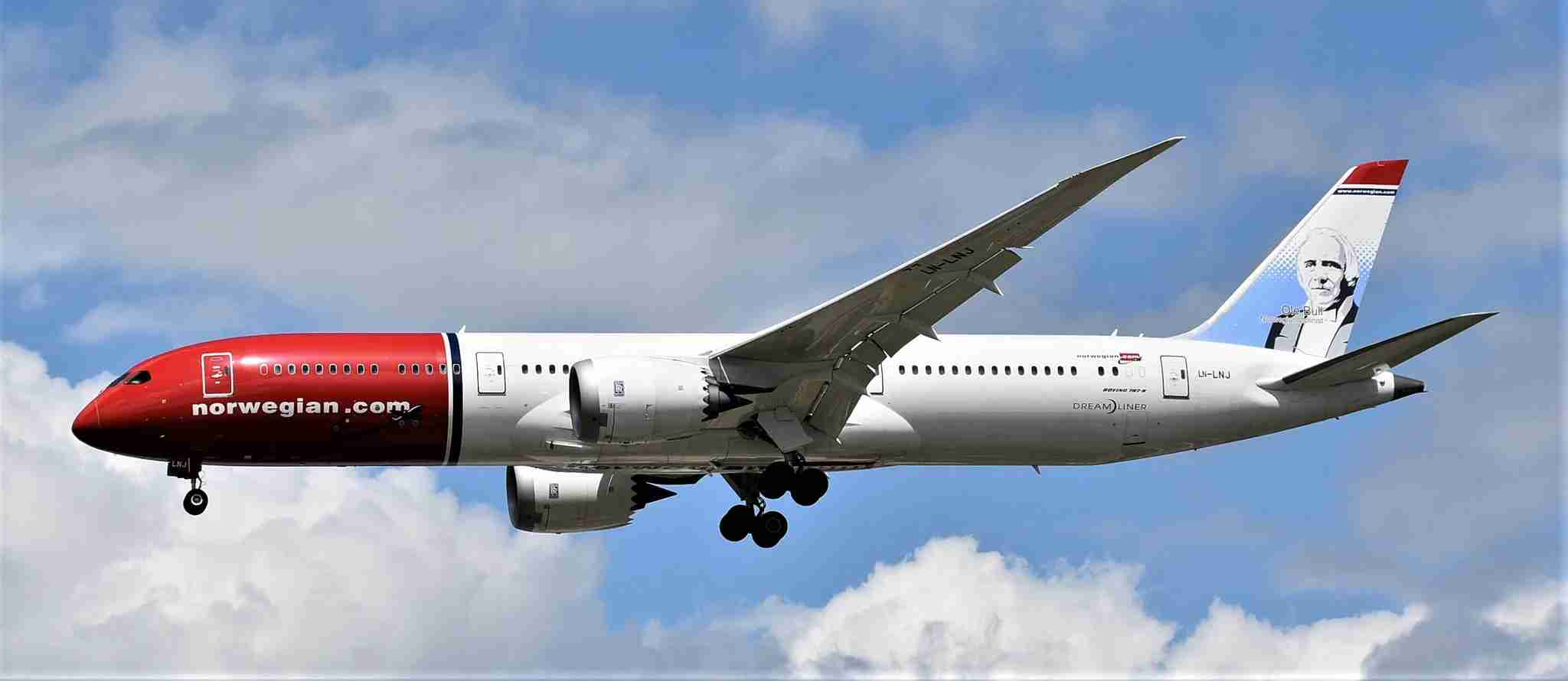 Norwegian 787-9. Photo by Alec Wilson/Flickr.
