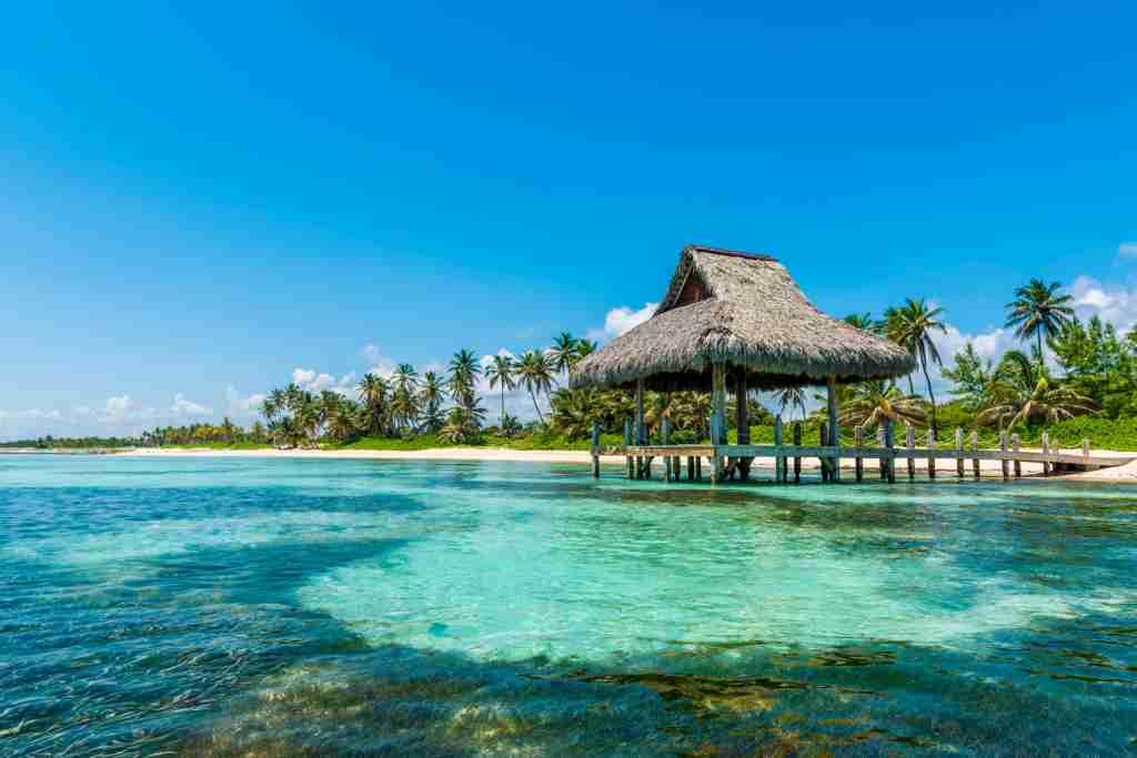 Playa Blanca, Punta Cana, Dominican Republic, Caribbean Sea.