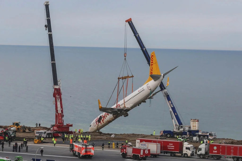 The Pegasus 737 That Ran off a Cliff Might Fly Again