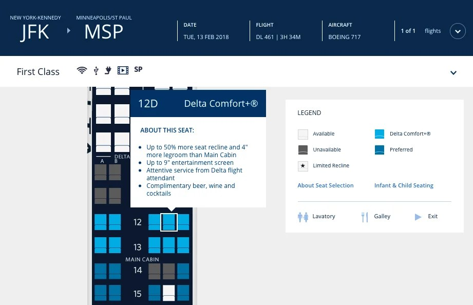 Some Delta Elites Can Avoid Being 'Upgraded' to Middle Seat