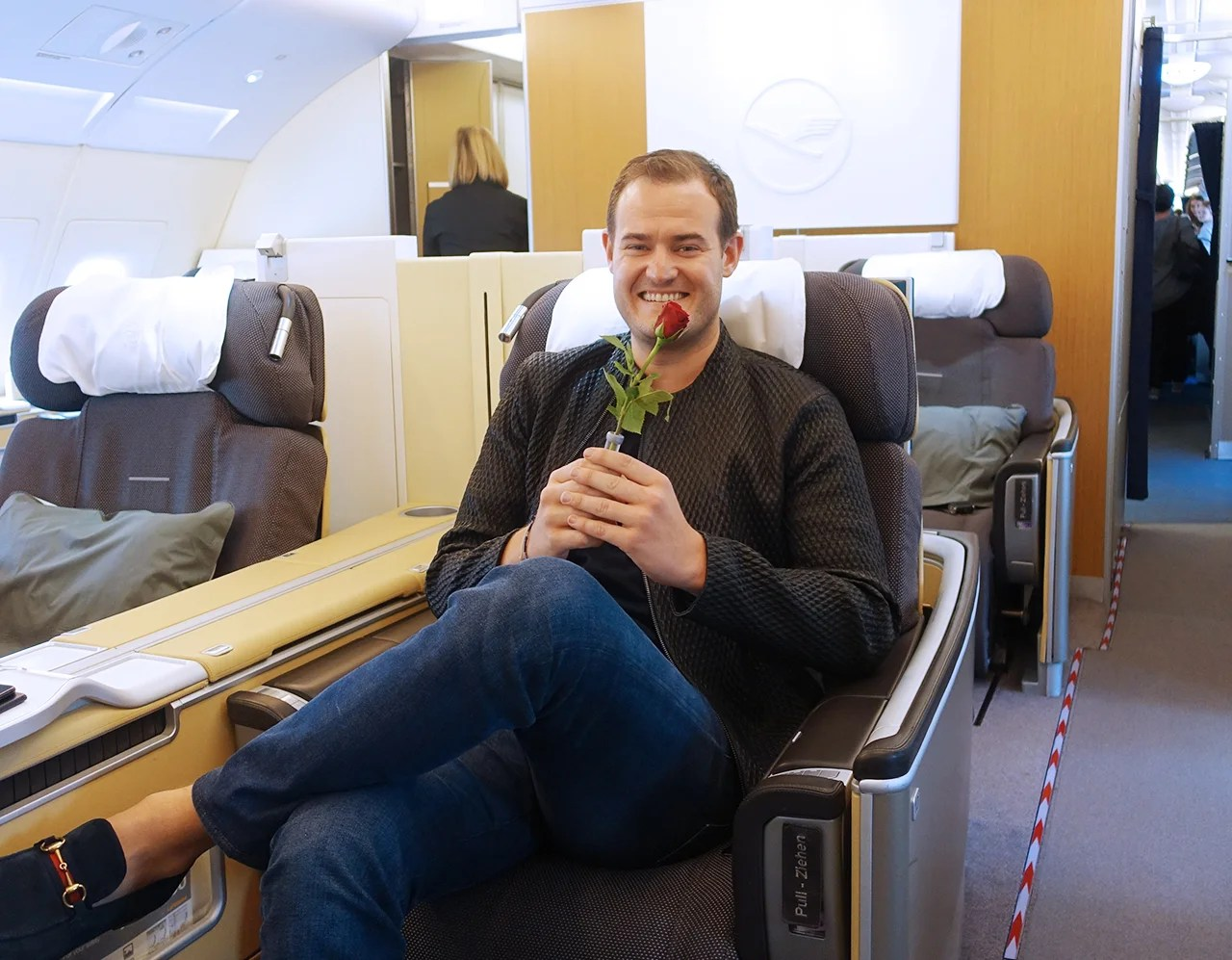Ultimate Rewards saved the day, letting me book a last-minute flight home in Lufthansa first class through United.