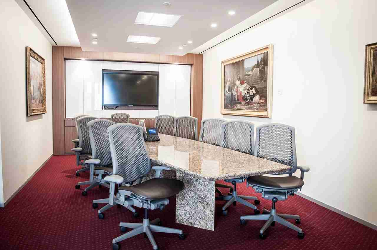 Servcorp also offers conference rooms to rent