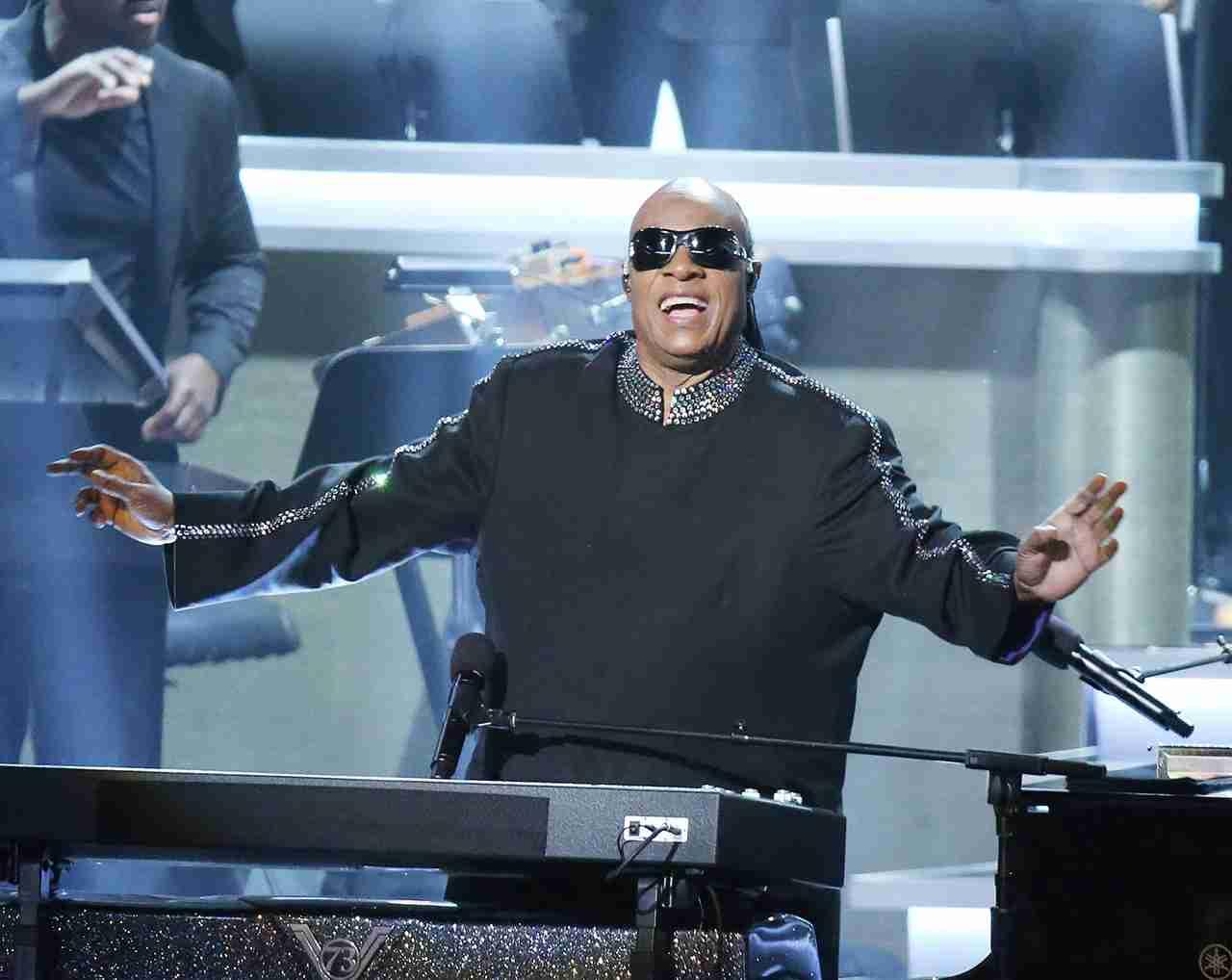 Stevie Wonder. (Photo by Michael Tran/FilmMagic)