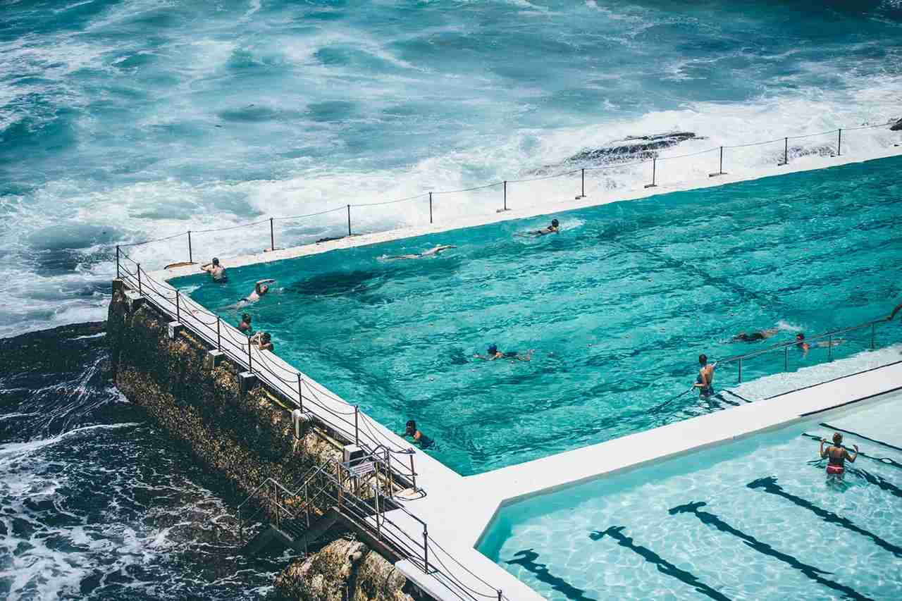 The Bondi Icebergs Pool is easily within reach if you use points and miles to get to Sydney. (Photo by @prozipix via Twenty20)