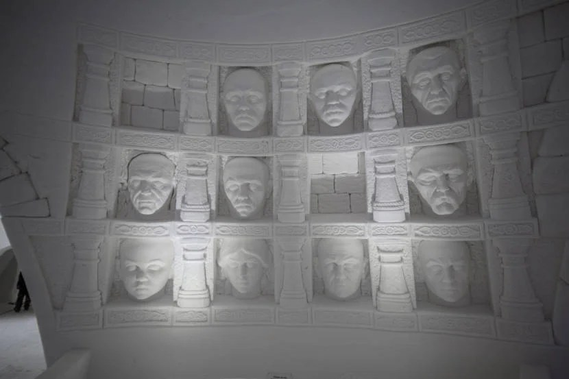 Get an up-close look at the Hall of Faces.