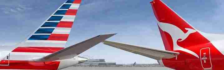 American qantas / image by American Airlines