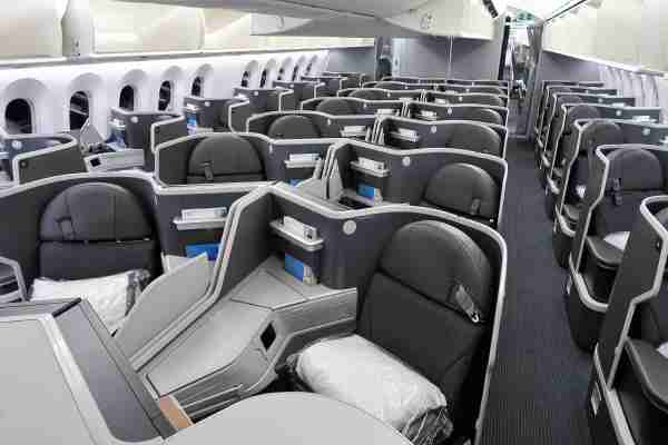 Business class on American Airlines 787-9. Photo by JT Genter/TPG.