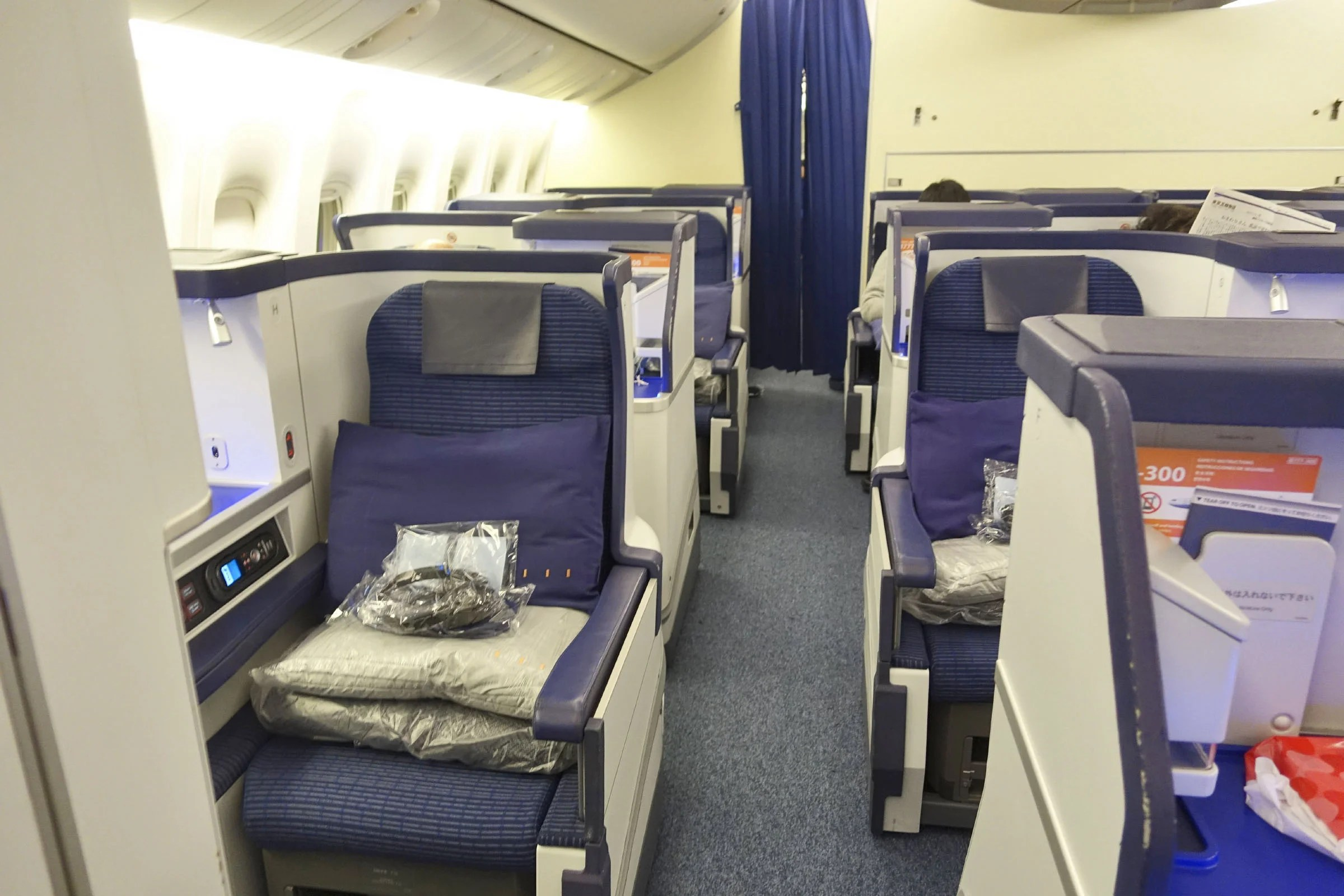 Review Ana Boeing 777 300er Business Class To New York