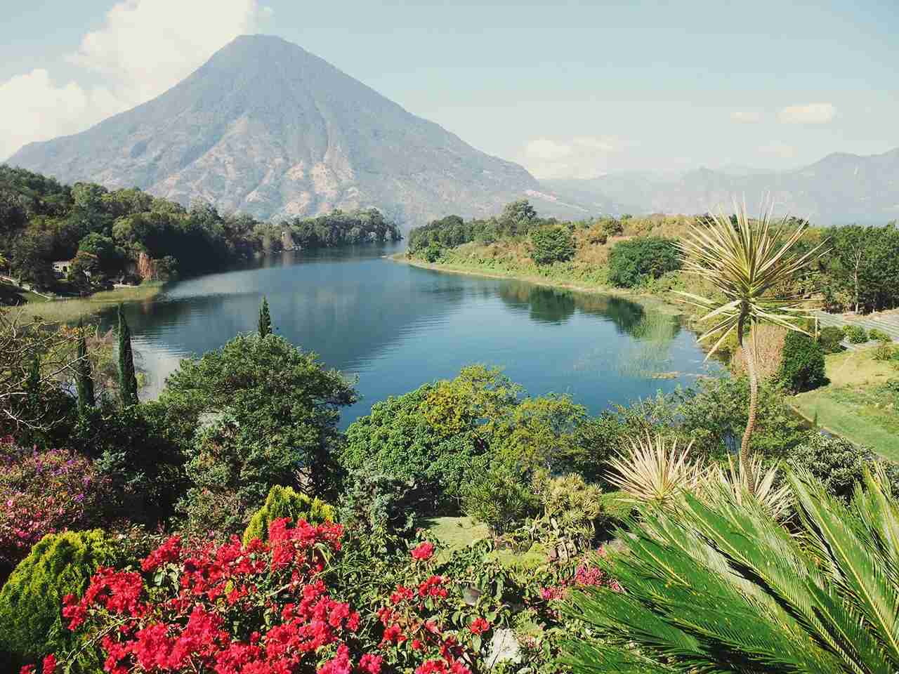 Highland at Lake Atitlan in Guatemala. (Photo by Getty Images)