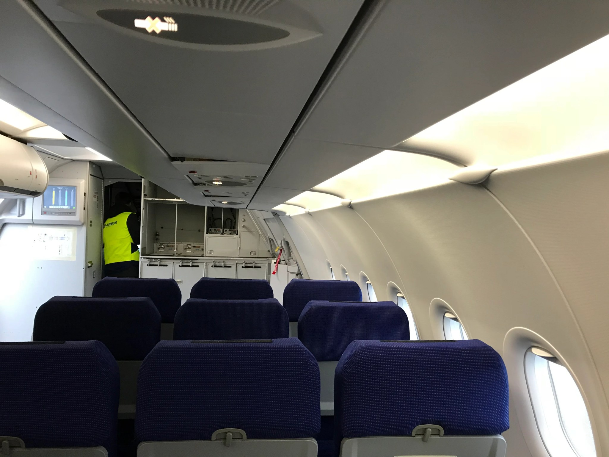 Have a Look Inside the Airbus A321LR Test Aircraft