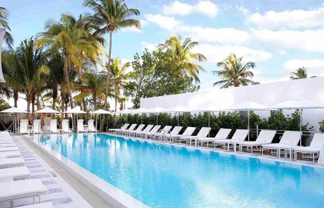 Miami Beach Edition Hotel, which participates in Marriott Rewards and The Ritz-Carlton Rewards. (Photo courtesy Editions Hotel)