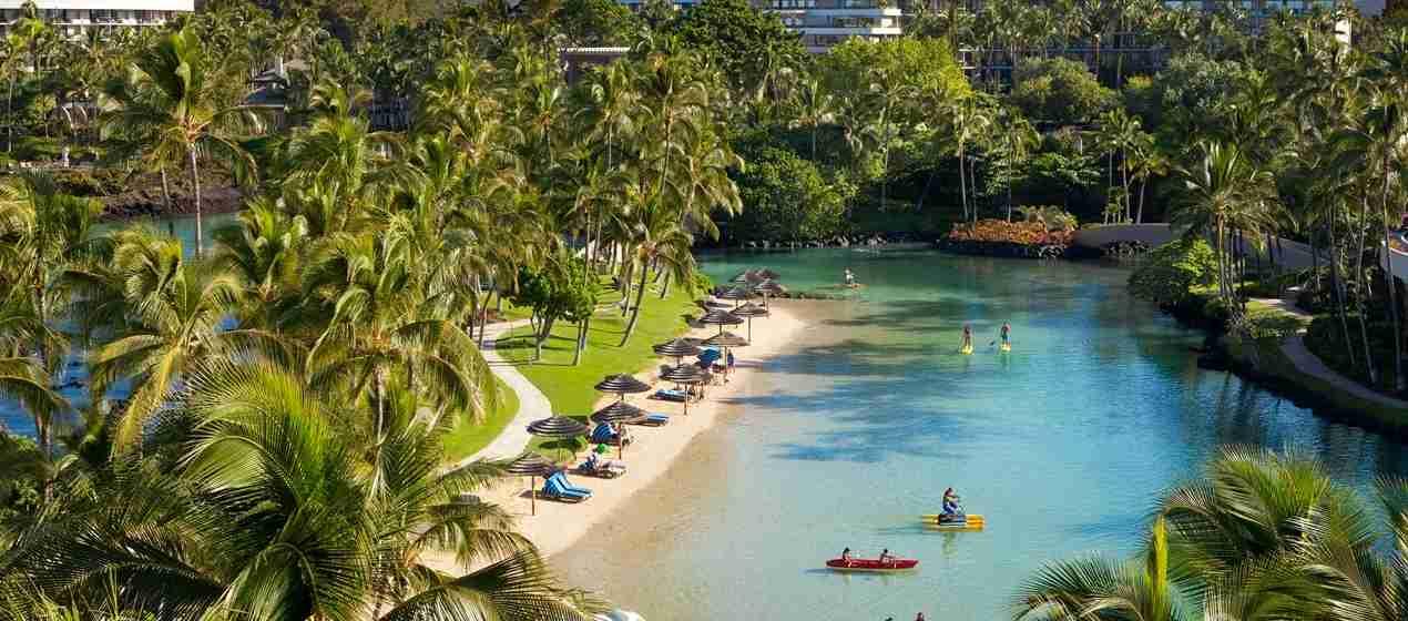Enjoy a $250 property credit at the Hilton Waikoloa Village. Photo courtesy of property.