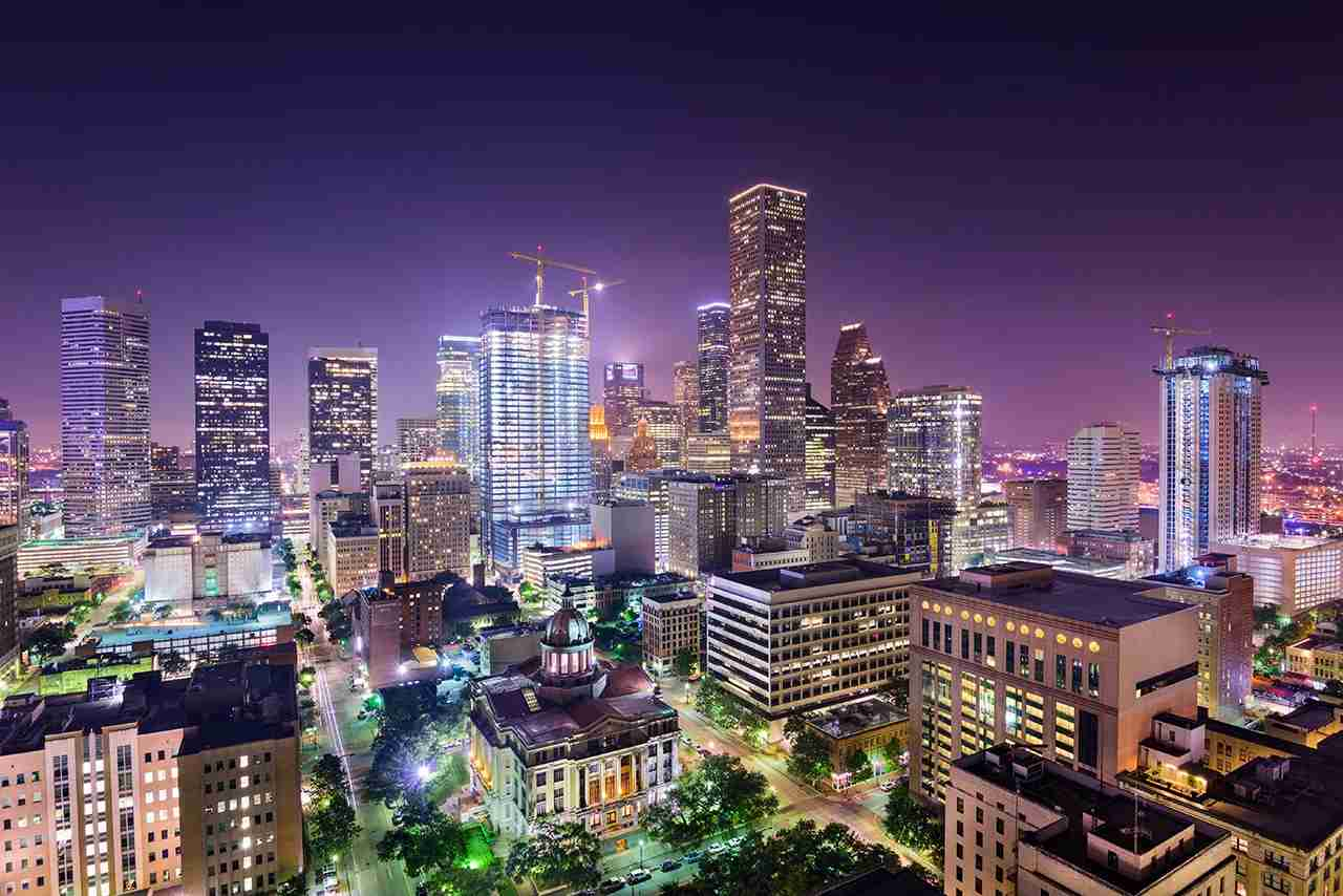 Houston, Texas, USA downtown city skyline. (Photo by SeanPavonePhoto/Getty Images)